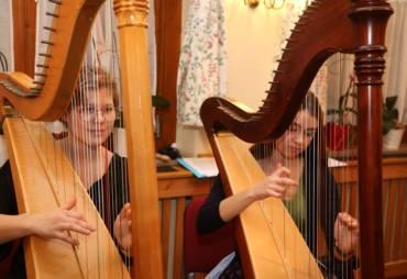 Junge Volksmusik beim Wirt